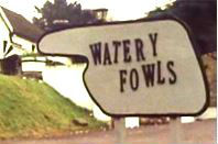 Farty towels sign